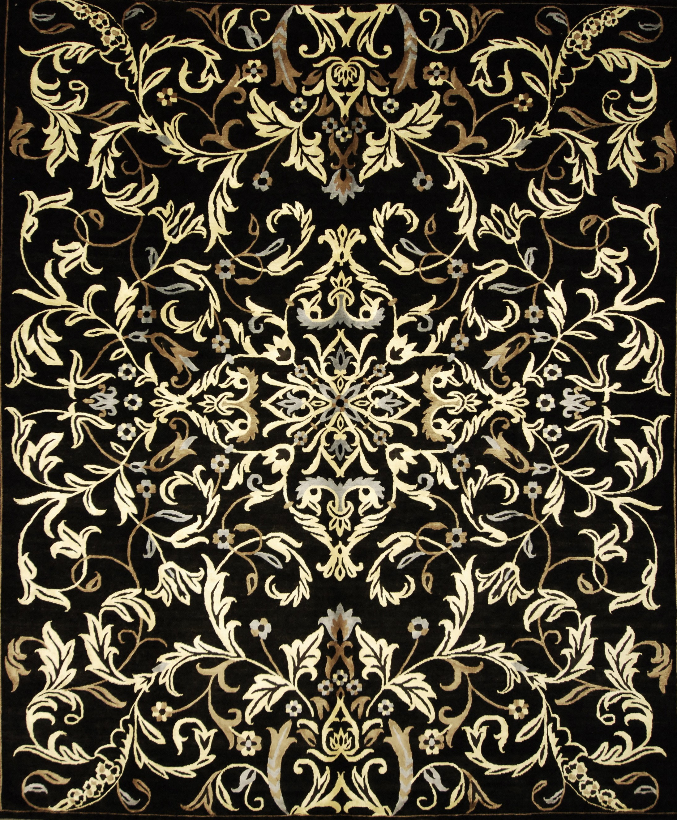 Royal Flower (Black & Gold Collection)