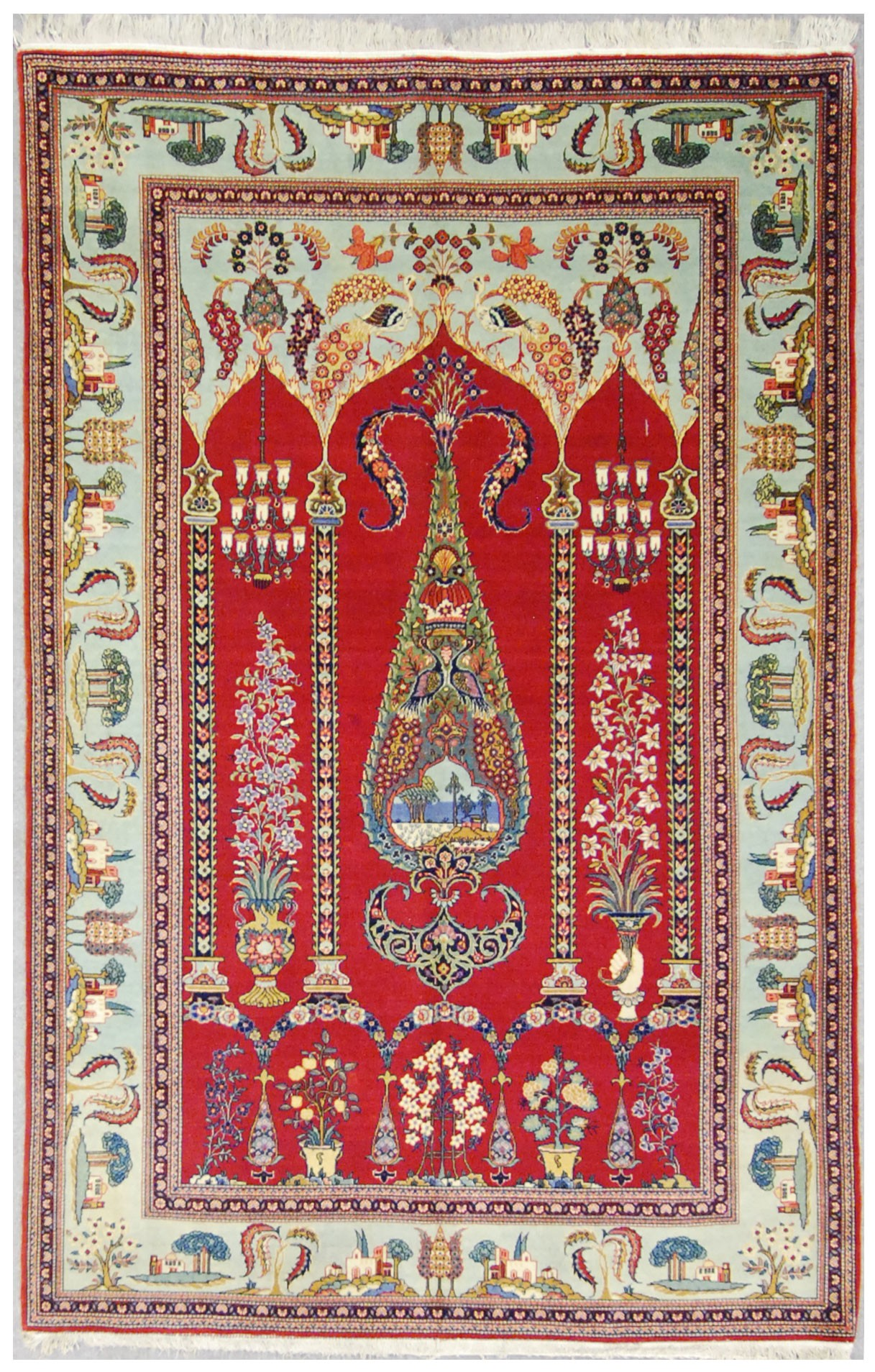 Antique Persian Kashan