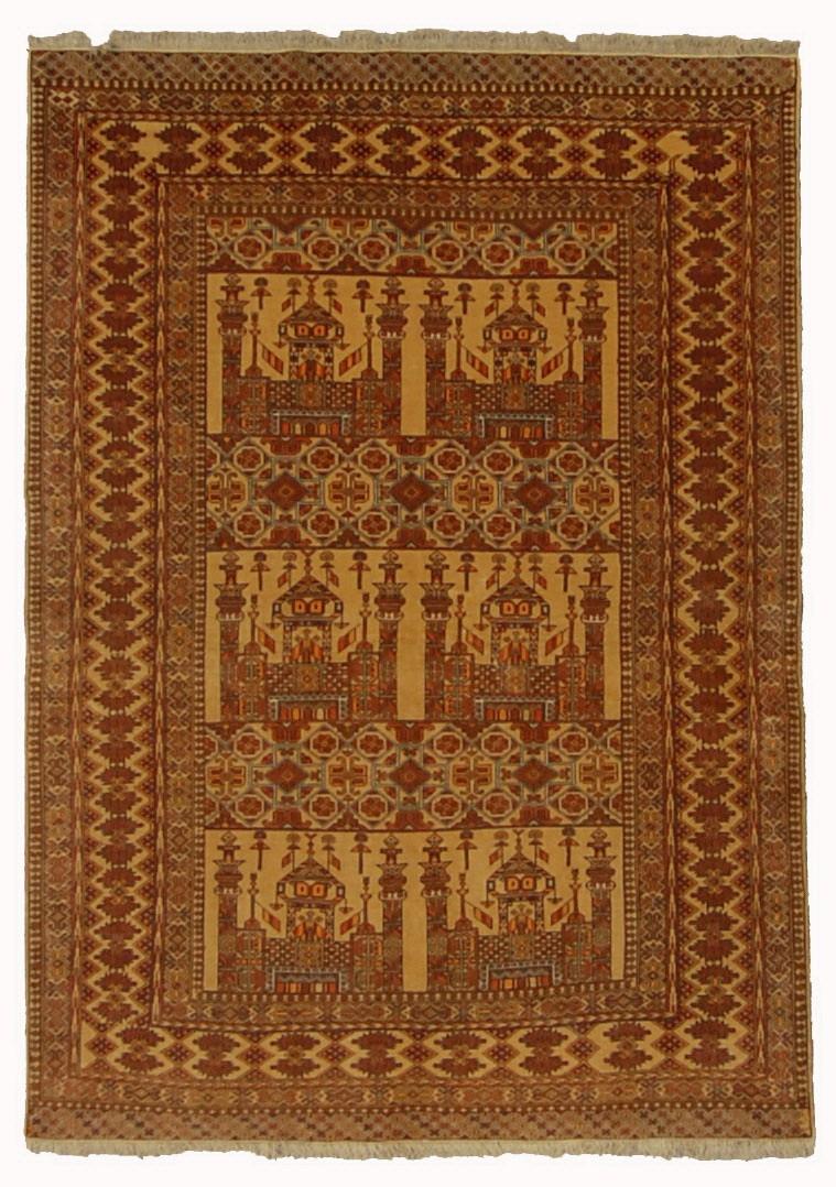 Afghan Turkoman (Prayer Rug)
