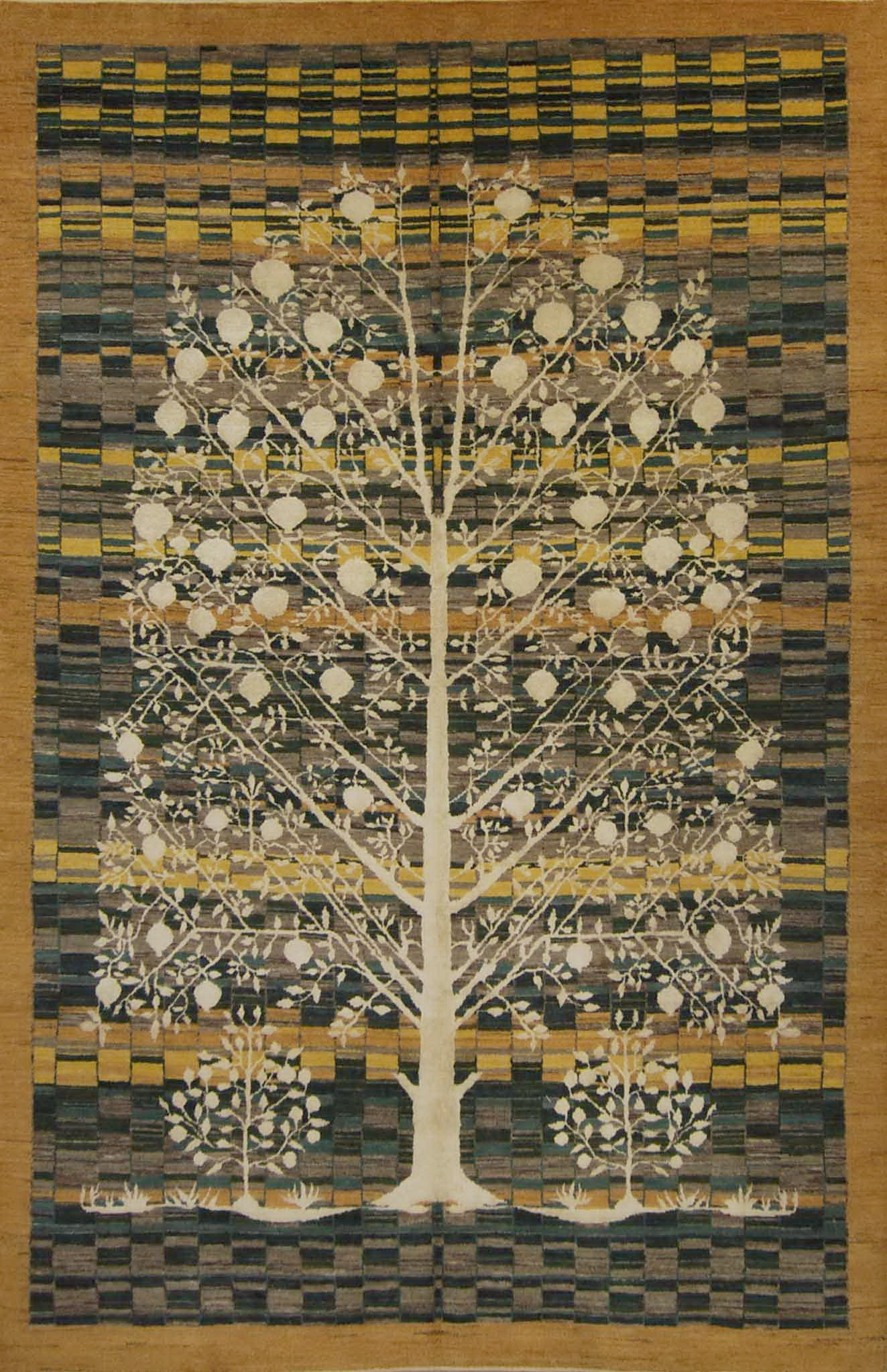 Persian Qashqai Gabbeh Tree of Life