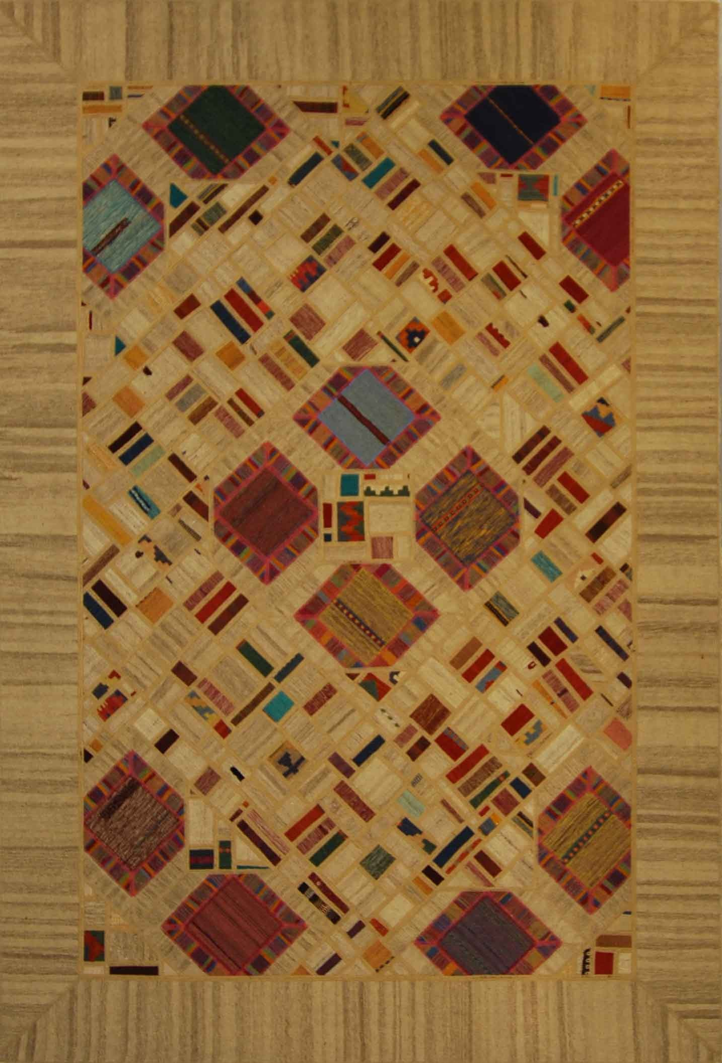 Persian Kilim Patch Work