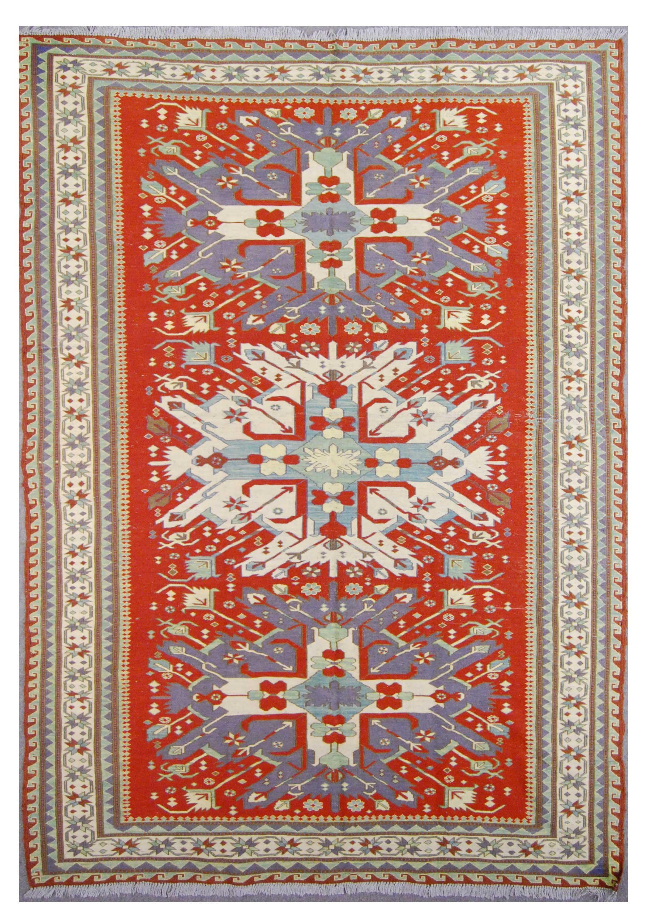 Afghanistan Caucasian Design Soumak